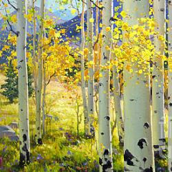 Afternoon Aspen - Fine Art