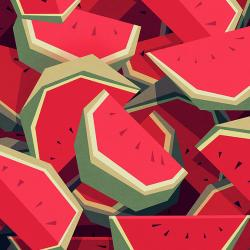 Too Many Watermelons - Fine Art